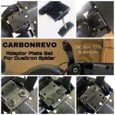 Carbonrevo Adaptor Plate Set for Dualtron Spider